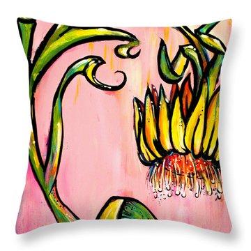 Xeranthemum Throw Pillow