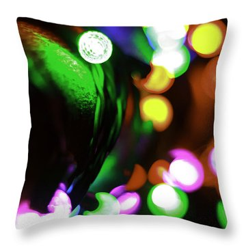 Xmas Lite Throw Pillow