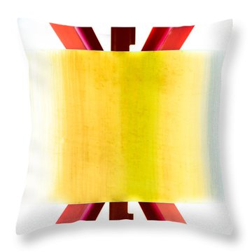 Xo - Color Throw Pillow