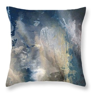 Xv - Lost Island Throw Pillow