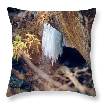 Yahoo Falls Frozen 1 Throw Pillow