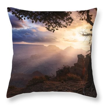 Yaki Point Throw Pillow by Michael Breitung