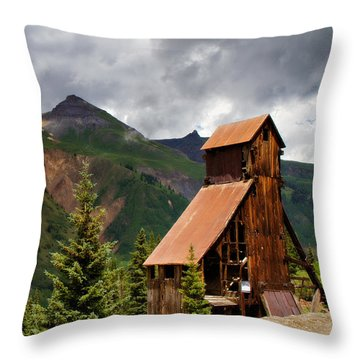 Yankee Girl Mine 2 Throw Pillow by Lana Trussell