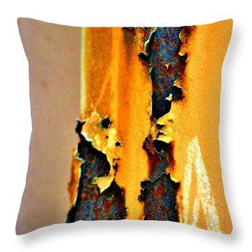 Yard Art Two Throw Pillow