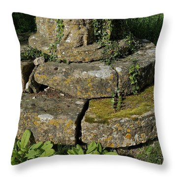 Yarnton Grave Throw Pillow by Joseph Yarbrough
