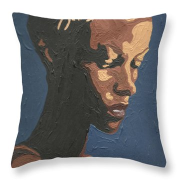 Yasmin Warsame Throw Pillow