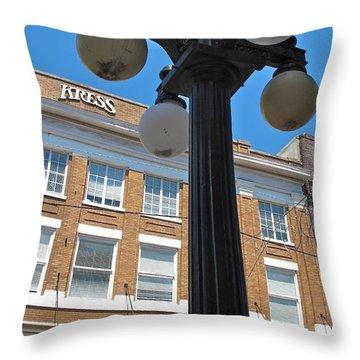 Ybor City 2010 5 Throw Pillow