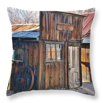Years Ago Throw Pillow