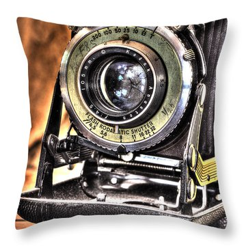 Years Back Kodak Throw Pillow