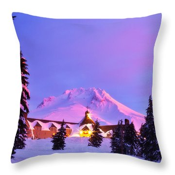 Years End Throw Pillow