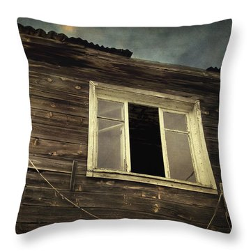 Years Of Decay Throw Pillow by Taylan Apukovska