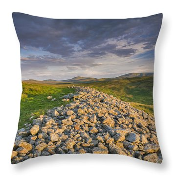 Yeavering Bell Throw Pillow