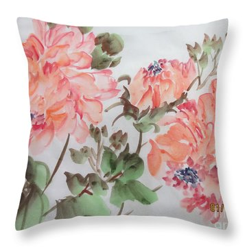 Yell01142015-1 Throw Pillow