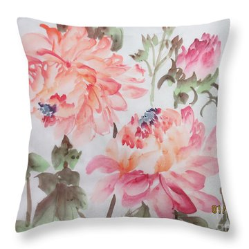 Yell01142015-2 Throw Pillow