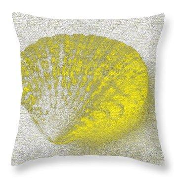 Yellow Throw Pillow by Carol Lynch