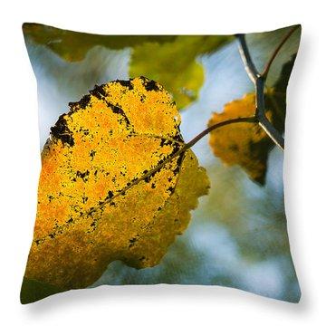 Yellow Light - Featured 3 Throw Pillow by Alexander Senin