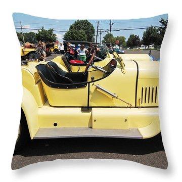 Yellow Mercer Throw Pillow