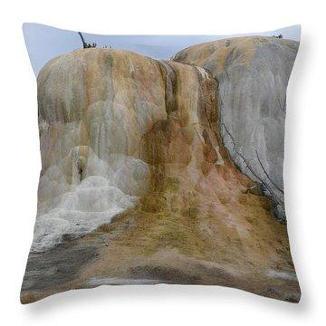 Yellowstone Np Montana Throw Pillow