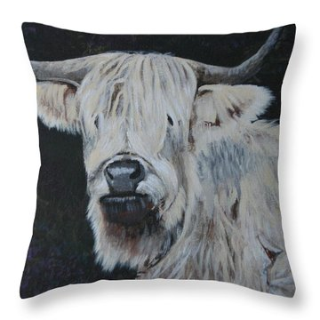 Yes  I Can See Throw Pillow by Betty-Anne McDonald