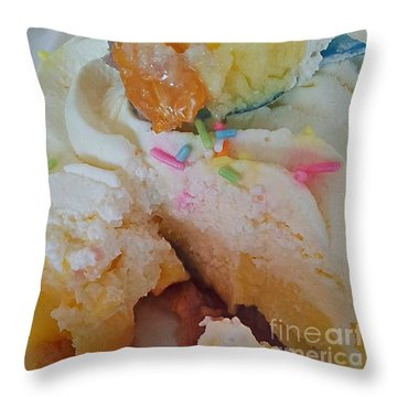 Yes I Did Say Diet...see Food Diet, Not Throw Pillow by Isabella F Abbie Shores FRSA