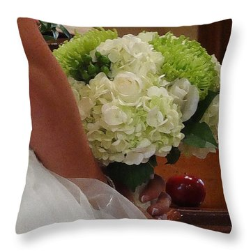 Throw Pillow featuring the photograph Yes I Do by Zinvolle Art