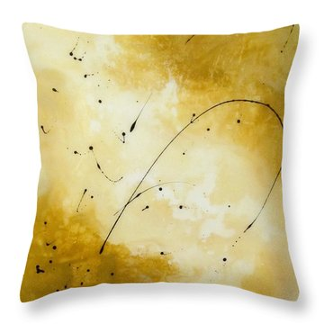Throw Pillow featuring the painting YES by Mary Kay Holladay