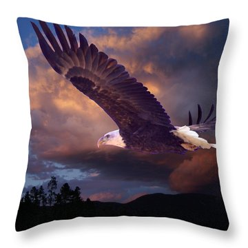 Yeshua Is Calling Throw Pillow by Bill Stephens