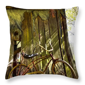 Yesterday Throw Pillow by Debra and Dave Vanderlaan