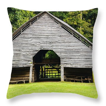 Yesterdays Barn Throw Pillow