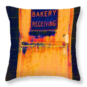 Yesterday's Bread Throw Pillow
