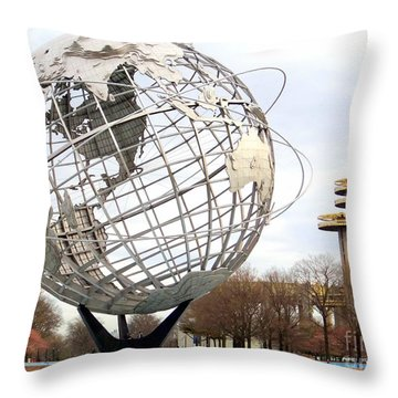Yesterdays Glory Throw Pillow by Ed Weidman