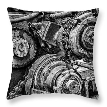 Yesterday's Work Throw Pillow by Tamyra Ayles