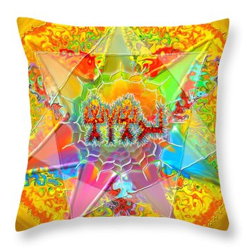 Yhwh 9 7 2014 Throw Pillow