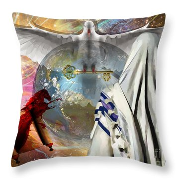 Yhwh Throw Pillow