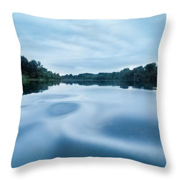 Yin And Yang Throw Pillow by Davorin Mance