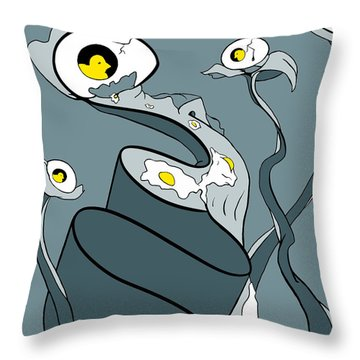 Yoked Throw Pillow