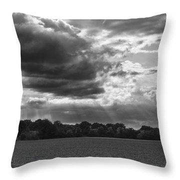 Yonder Breaks Throw Pillow by Christi Kraft