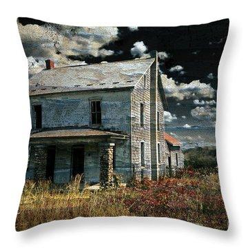Yoooo Hooooo Throw Pillow by Lois Bryan