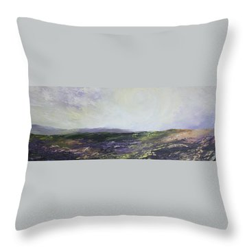 Yorkshire Moors Throw Pillow