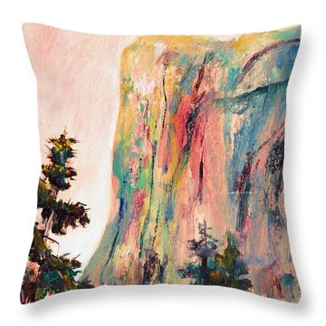 Yosemite El Capitan Throw Pillow