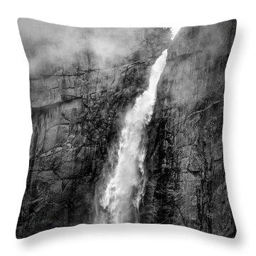 Yosemite Fall Throw Pillow