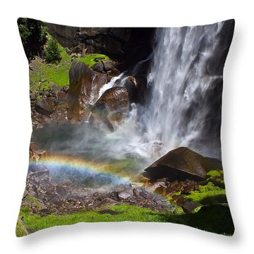 Yosemite National Park Throw Pillow by Brian Williamson