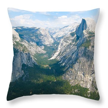 Yosemite Summers Throw Pillow by Heidi Smith