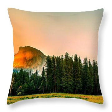 Sunrise Surprise Throw Pillow
