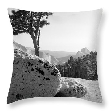 Throw Pillow featuring the photograph Yosemite's Olmsted Point by Kevin Desrosiers