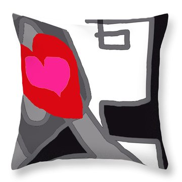 You Are My Forever Valentine Throw Pillow