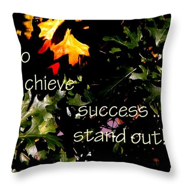 You Are Outstanding 21079 Throw Pillow