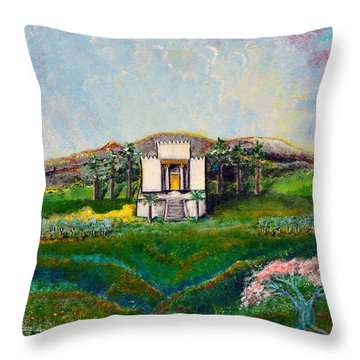 You Are The Temple Of God Throw Pillow
