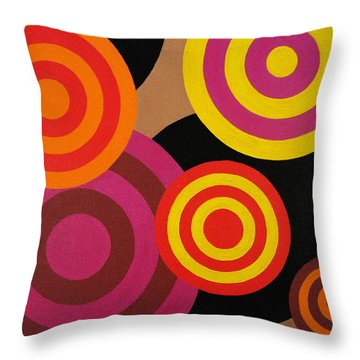 You Are Under Throw Pillow by Oliver Johnston