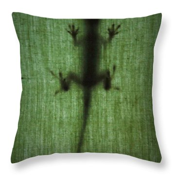 You Cannot See Me Throw Pillow by John Glass
